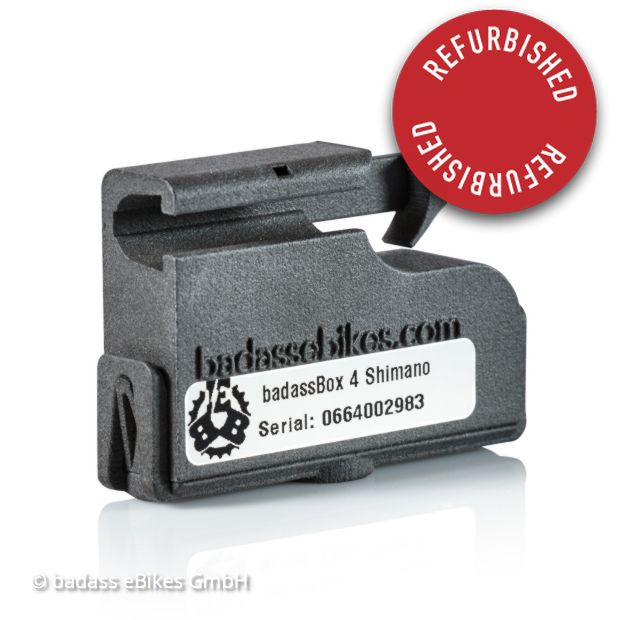 badassBox 4 Shimano Refurbished
