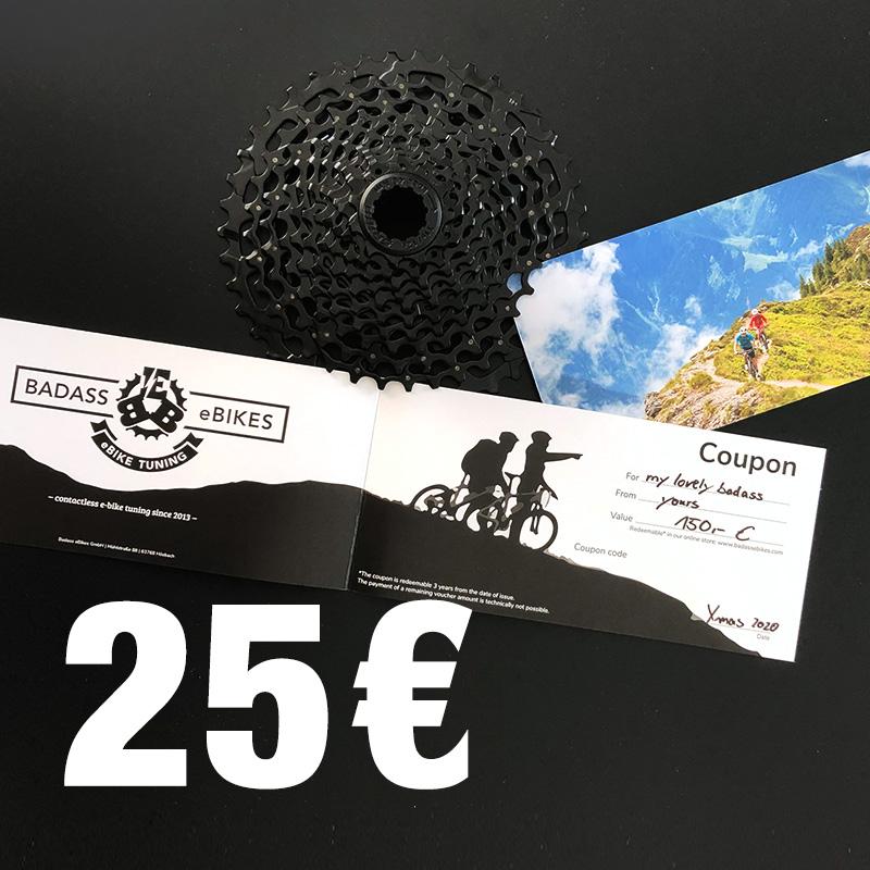 Coupon 25€