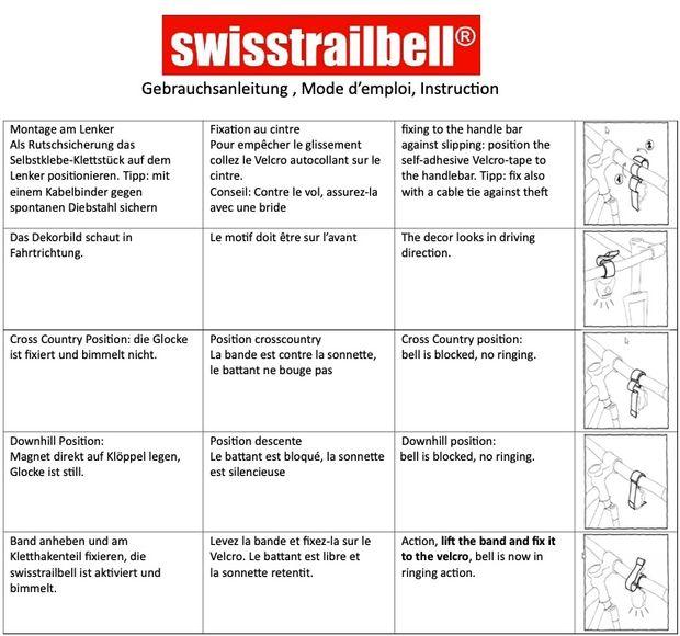 "swisstrailbell® BlackForest Edition Deep Black: ""Just Escape"""